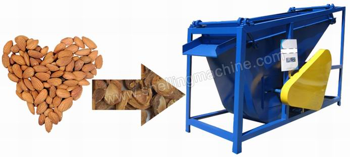 almond kernek and shell separating machine