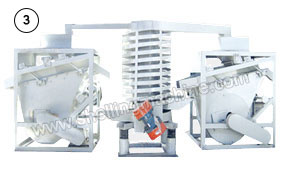 pine nut peeling removing machine