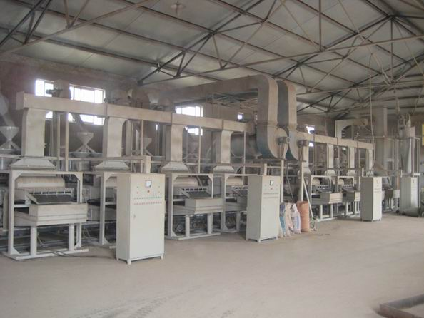 buckwheat seeds hulling machine