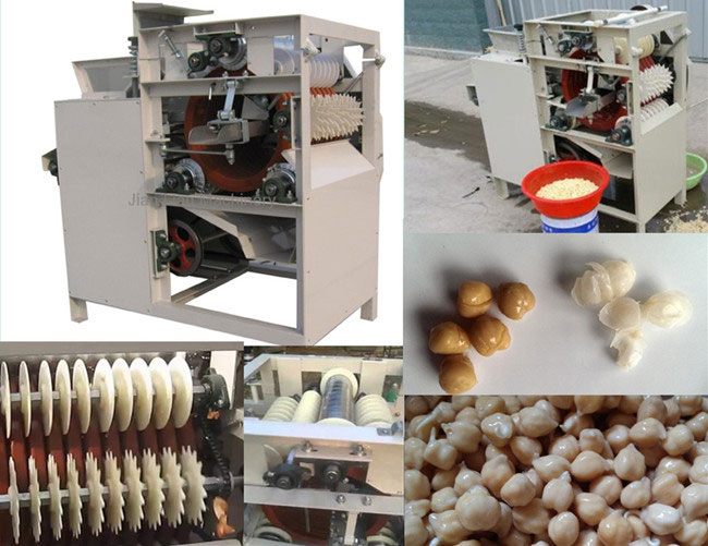 chickpeas peeling machine